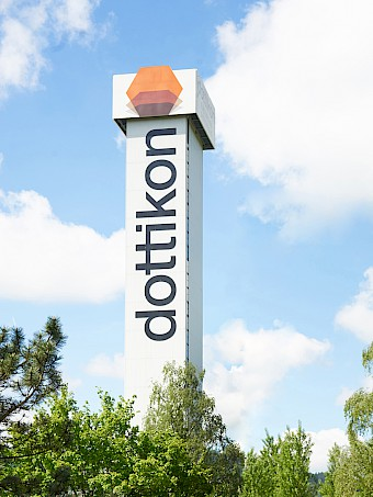 DOTTIKON ES Distillation Tower